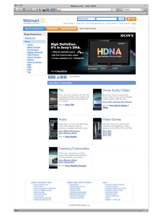 Sony Brand Shop