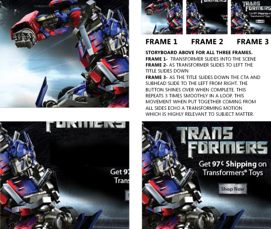 Transformers Storyboard